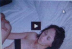Gambar yang diambil dari rekaman video seks mirip Ariel-Aura Kasih (A26 News)