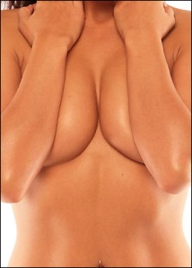 Payudara perempuan yang sering menjadi objek perhatian lawan jenis