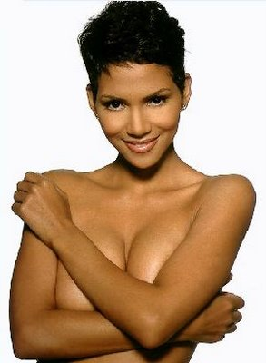 Halle Berry likes being naked.