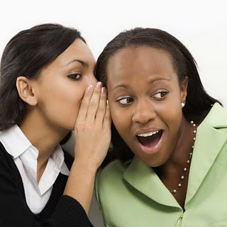 Wanita susah menjaga rahasia terlalu lama.